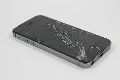 gebroken scherm